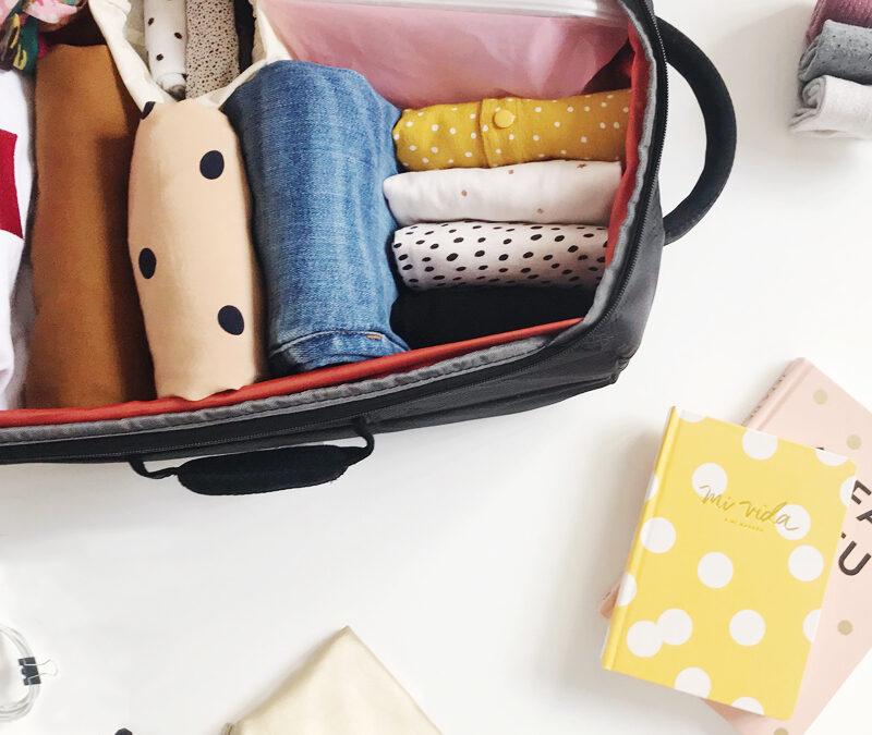 5 claves para organizar tu maleta con el Método KonMari
